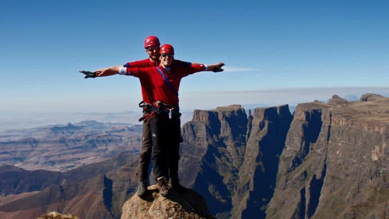 Guided Peak climb Drakensberg
