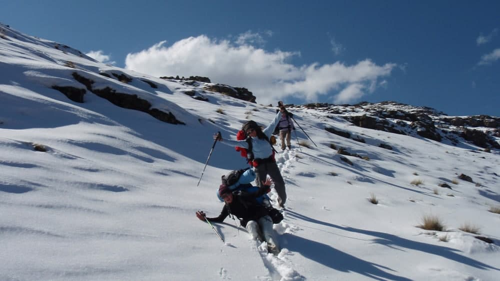 Winter Drakensberg Traverse