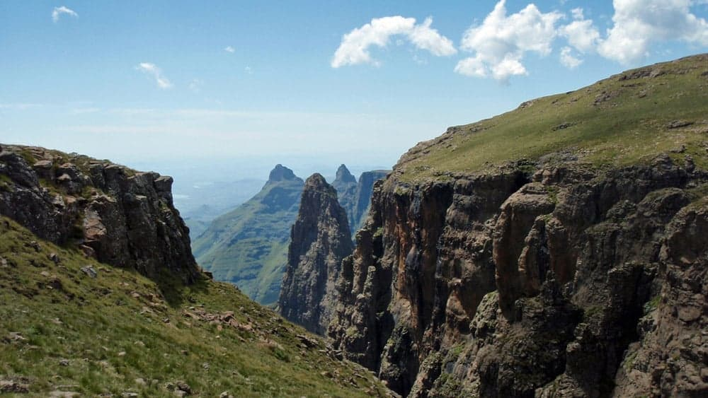 Guided hike Drakensberg