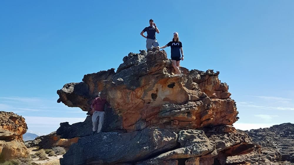 Cederberg guided hiking