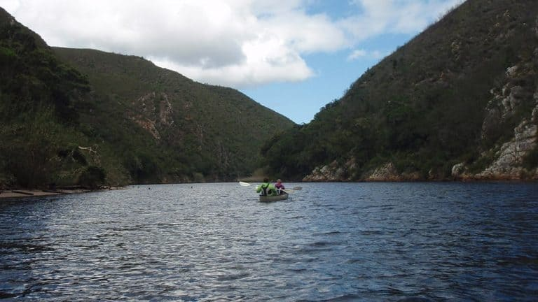 Guided Canoeing Keurbooms River