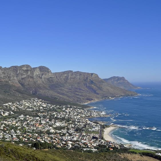 Cape Peninsular and Camps Bay