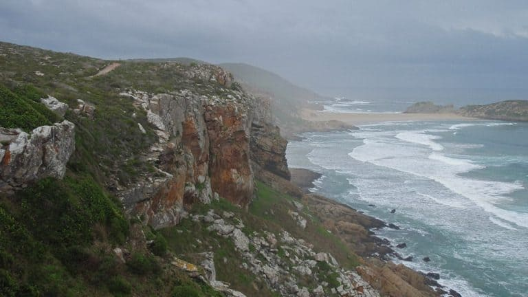 Robberg in the mist